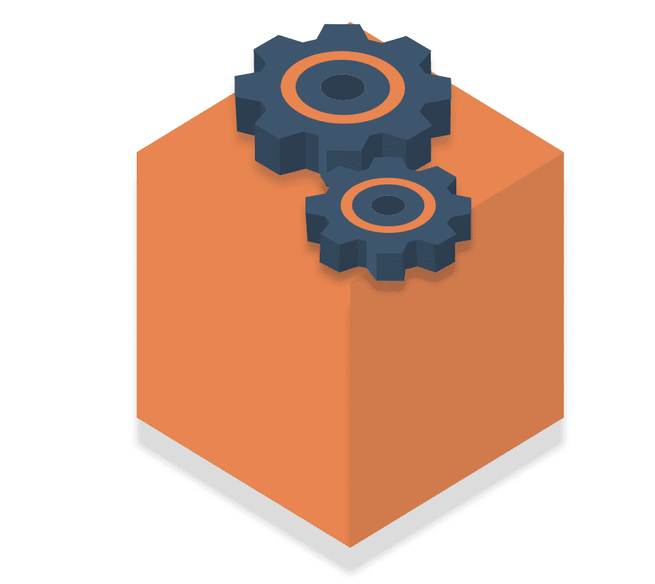 Large Orange box illustrating Payer post-purchase solutions