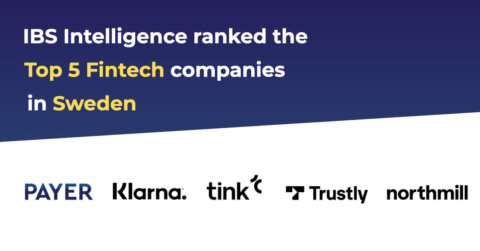 Payer ranked Top 5 fintech company in Sweden - Payer